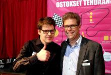 Messuisännät Mikko Oksanen ja Juha Soini