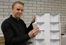 Aleksi Koikkalainen esittelee rakennemallia 01